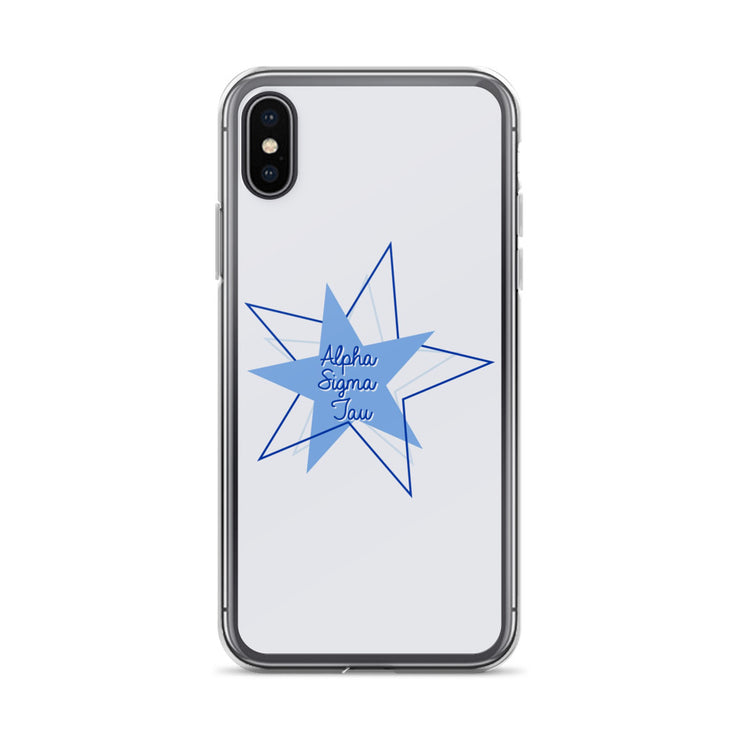 Alpha Sigma Tau Phone Case - Bring on the Blue Stars