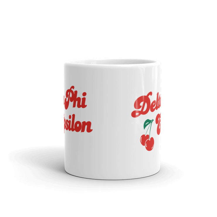 Delta Phi Epsilon Coffee Mug - Cherry on Top