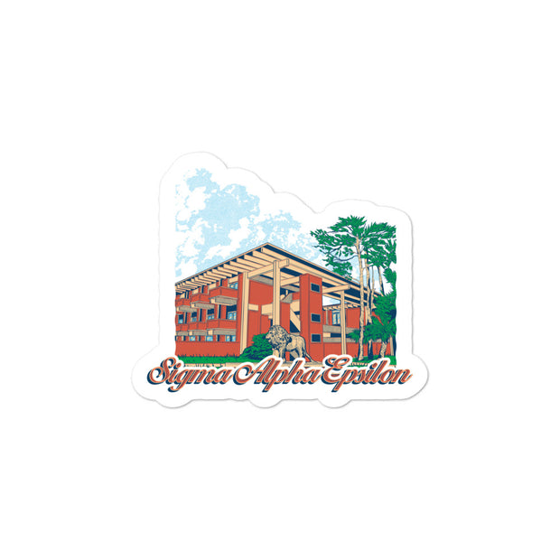 University of Florida - Sigma Alpha Epsilon - Chapter House Sticker