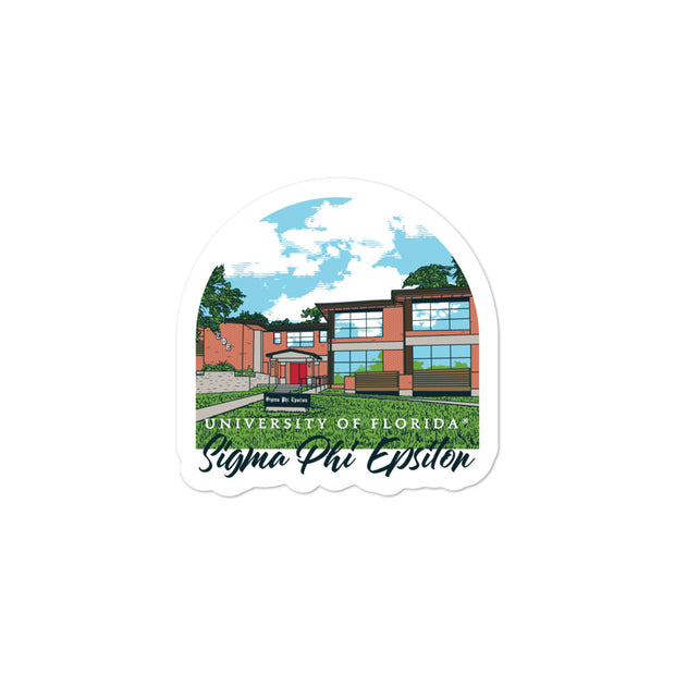 University of Florida - Sigma Phi Epsilon - Chapter House Sticker
