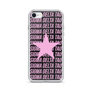 Sigma Delta Tau Phone Case - Center of Attention Star