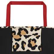 Alpha Sigma Alpha Red Hot Cheetah - Tote Bag