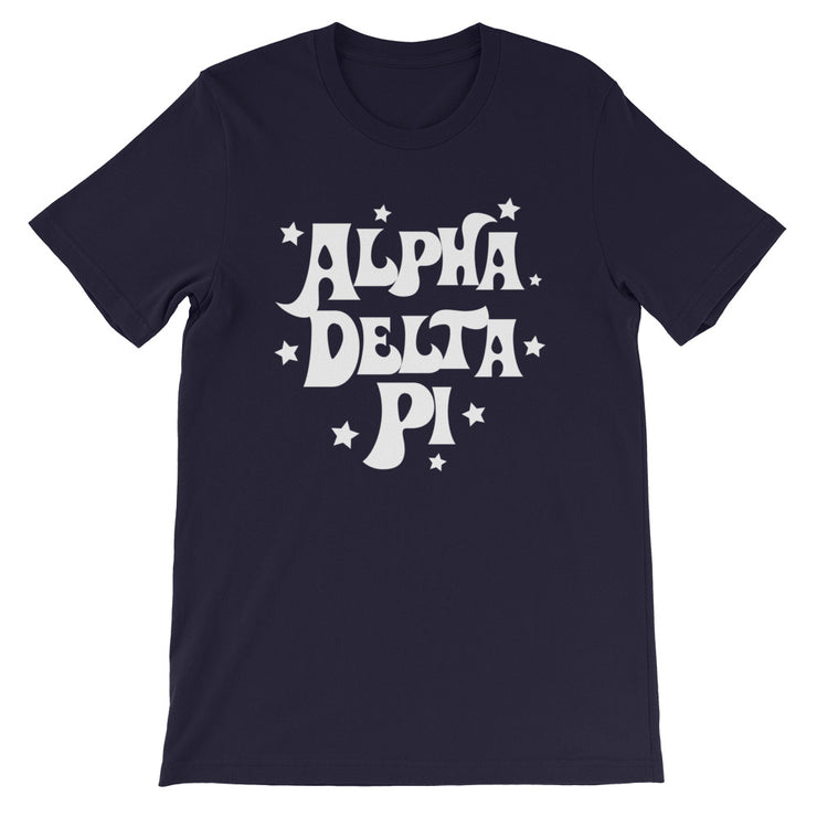Alpha Delta Pi Starred Up T-Shirt