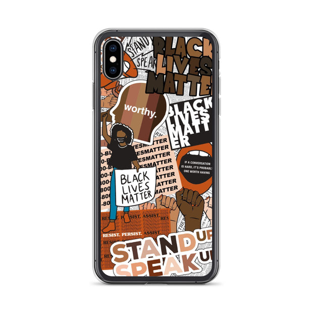 BLM Collage Phone Case