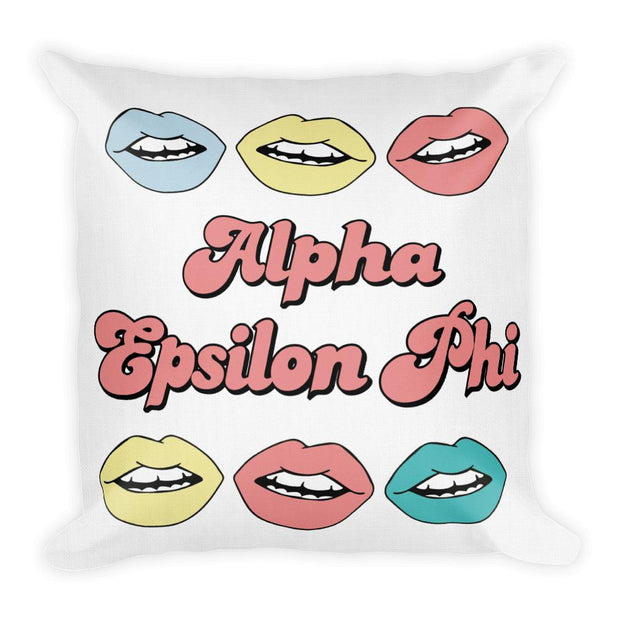 Pastel Lips Pillow