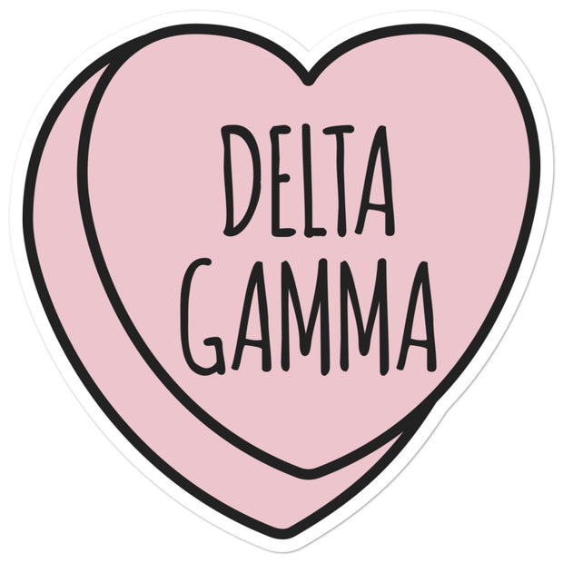 Delta Gamma Sweetheart - Sticker