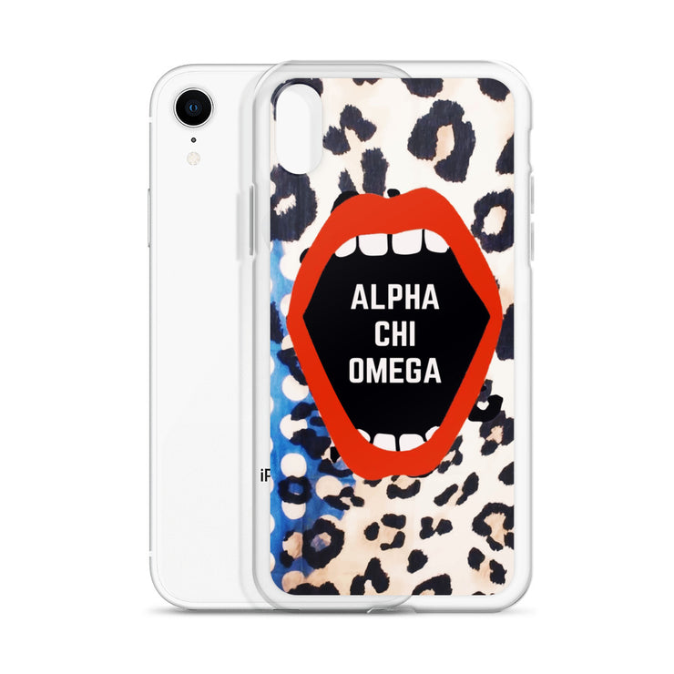 Alpha Chi Omega Phone Case - Lost in the Pattern