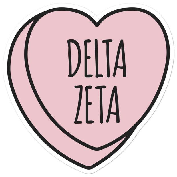 Delta Zeta Sweetheart - Sticker