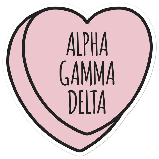Alpha Gamma Delta Sweetheart - Sticker