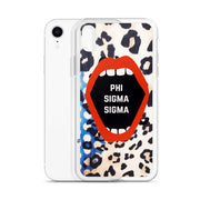Phi Sigma Sigma Phone Case - Lost in the Pattern