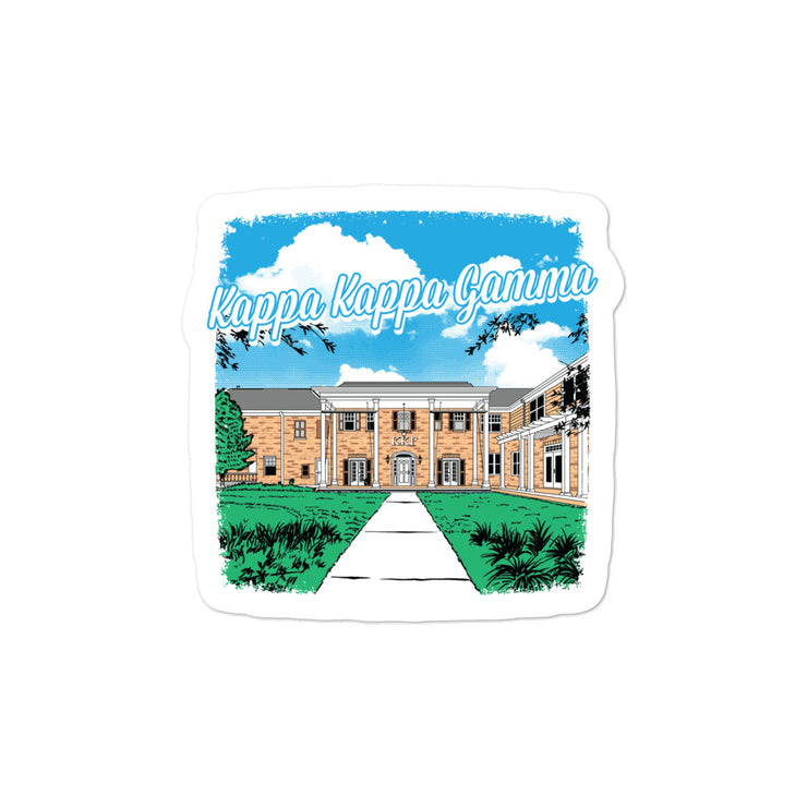 University of Florida - Kappa Kappa Gamma - Chapter House Sticker