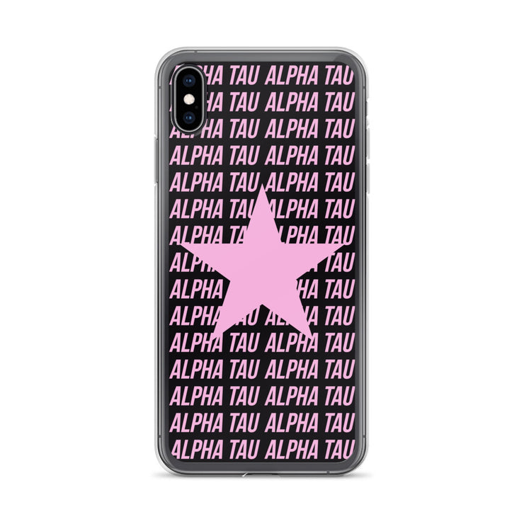 Alpha Sigma Tau Phone Case - Center of Attention Star