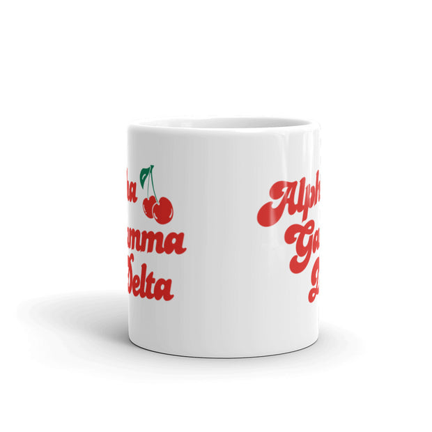 Alpha Gamma Delta Coffee Mug - Cherry on Top
