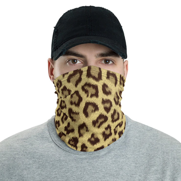 Leopard Neck Gaiter / Face Cover