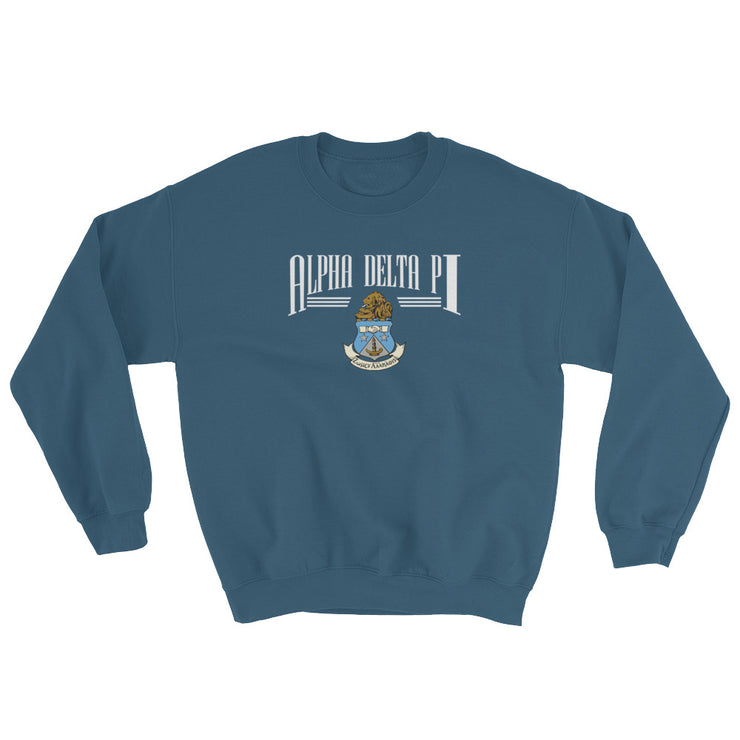 Alpha Delta Pi The College Crewneck Sweatshirt