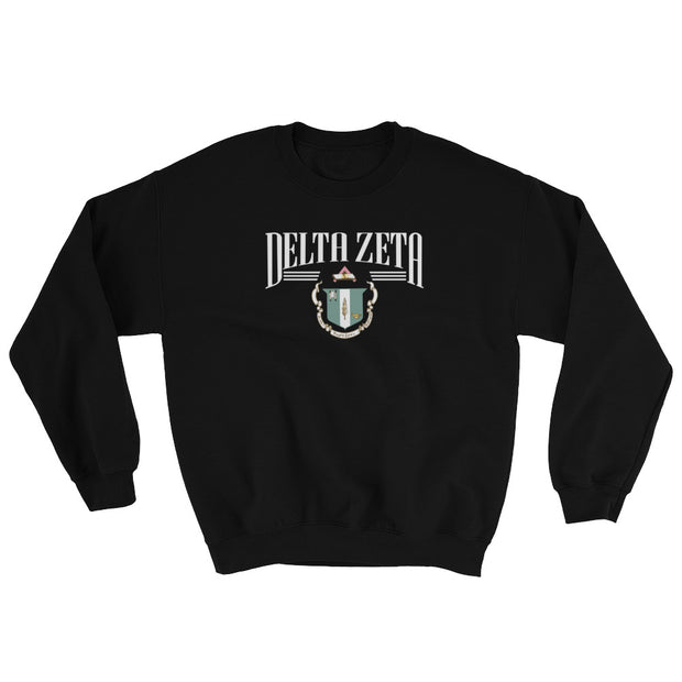 Delta Zeta The College Crewneck Sweatshirt