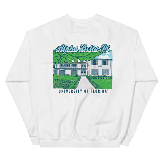 University of Florida - Alpha Delta Pi - Chapter House Sweatshirt