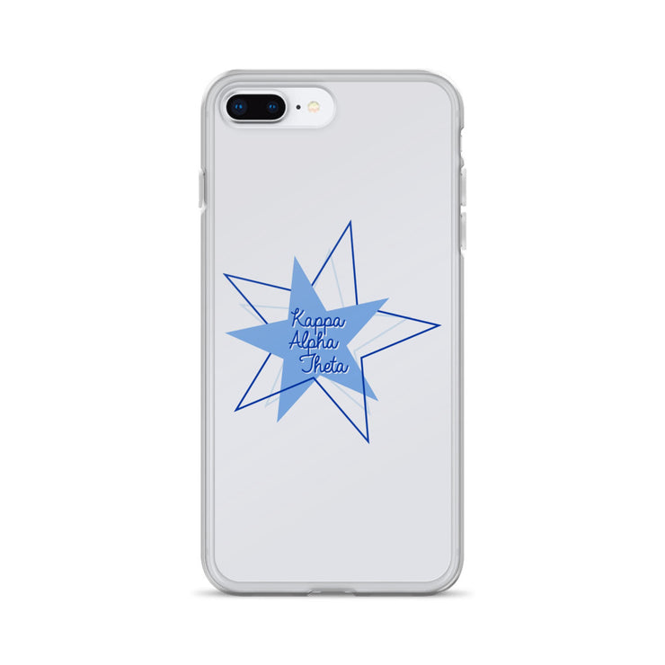 Kappa Alpha Theta Phone Case - Bring on the Blue Stars