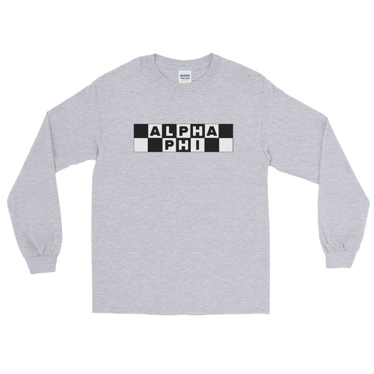 Alpha Phi Cartoon Network Long Sleeve T-Shirt