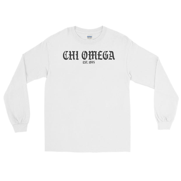 Old English Chapter Long Sleeve Tee