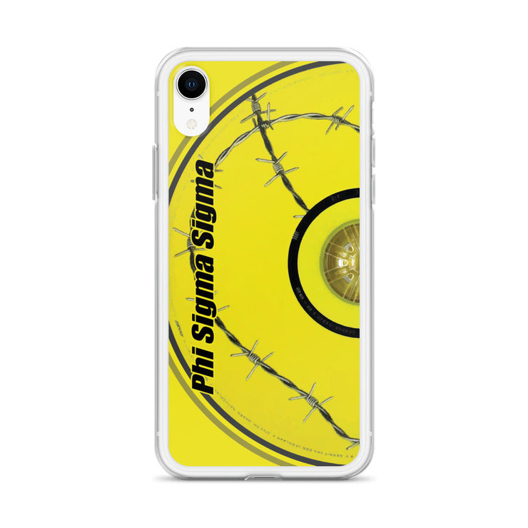 Phi Sigma Sigma Bentley iPhone Case