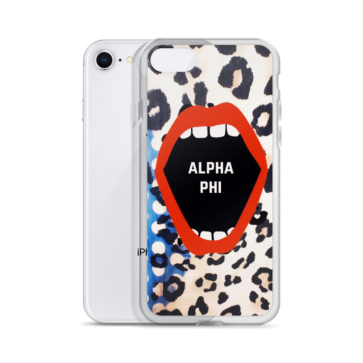 Alpha Phi Phone Case - Lost in the Pattern