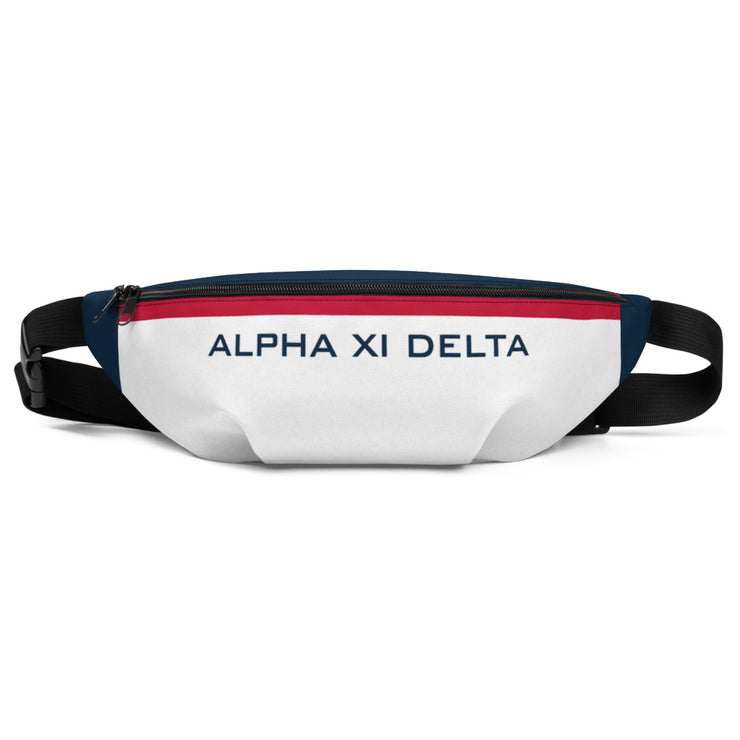 Alpha Xi Delta TOMMY Fanny Pack