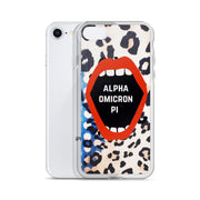 Alpha Omicron Pi Phone Case - Lost in the Pattern