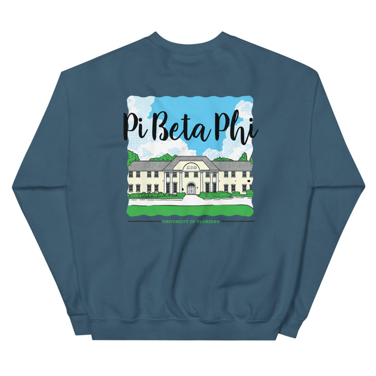 University of Florida - Pi Beta Phi - Chapter House Sweatshirt