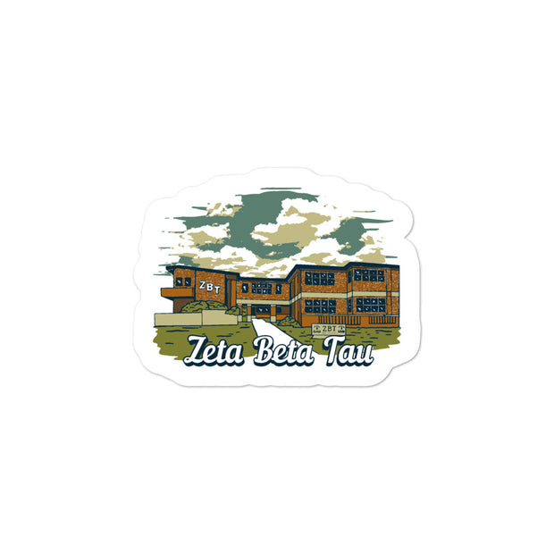 University of Florida - Zeta Beta Tau - Chapter House Sticker