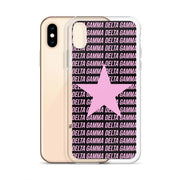 Delta Gamma Phone Case - Center of Attention Star