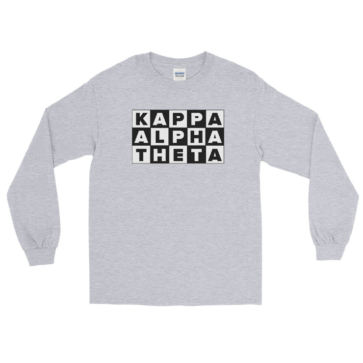 Kappa Alpha Theta Cartoon Network Long Sleeve T-Shirt