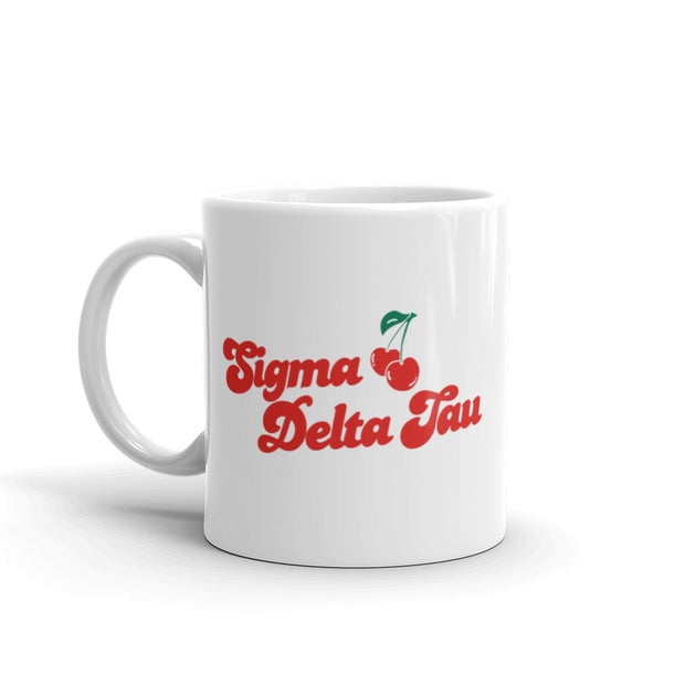 Sigma Delta Tau Coffee Mug - Cherry on Top