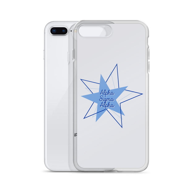 Alpha Sigma Alpha Phone Case - Bring on the Blue Stars