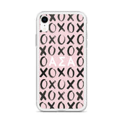 Alpha Sigma Alpha Phone Case - XOXO