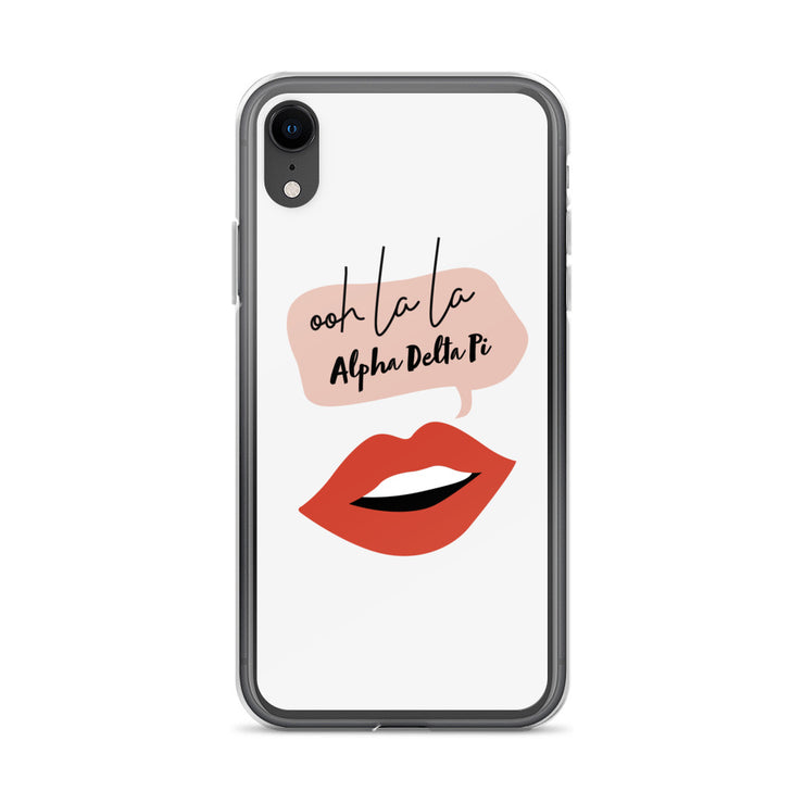 Alpha Delta Pi Phone Case - ooh la la