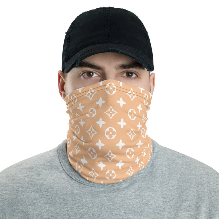 Nude LV Neck Gaiter / Face Cover