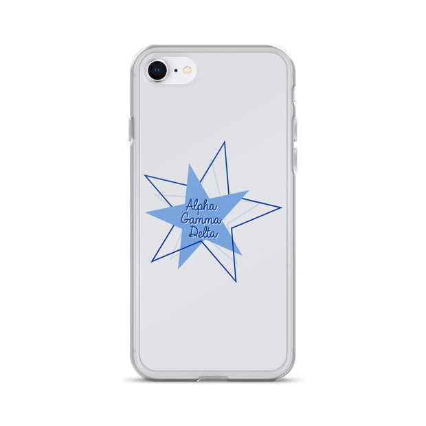 Alpha Gamma Delta Phone Case - Bring on the Blue Stars