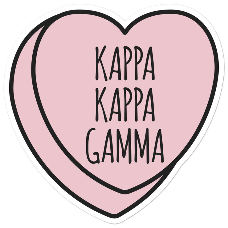 Kappa Kappa Gamma Sweetheart - Sticker