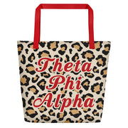 Theta Phi Alpha Red Hot Cheetah - Tote Bag