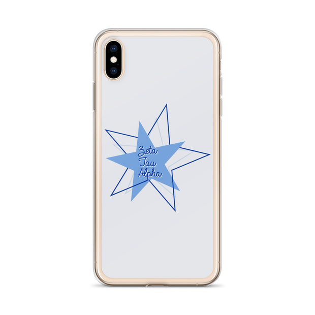 Zeta Tau Alpha Phone Case - Bring on the Blue Stars
