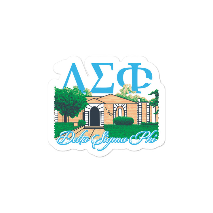University of Florida - Delta Sigma Phi - Chapter House Sticker