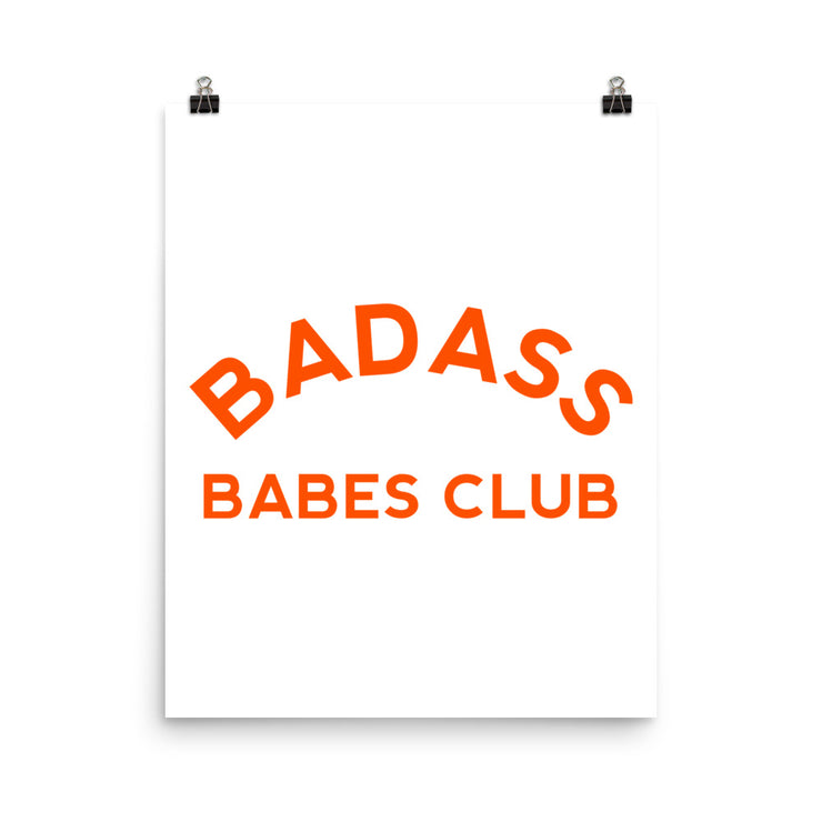 Babes Club Poster