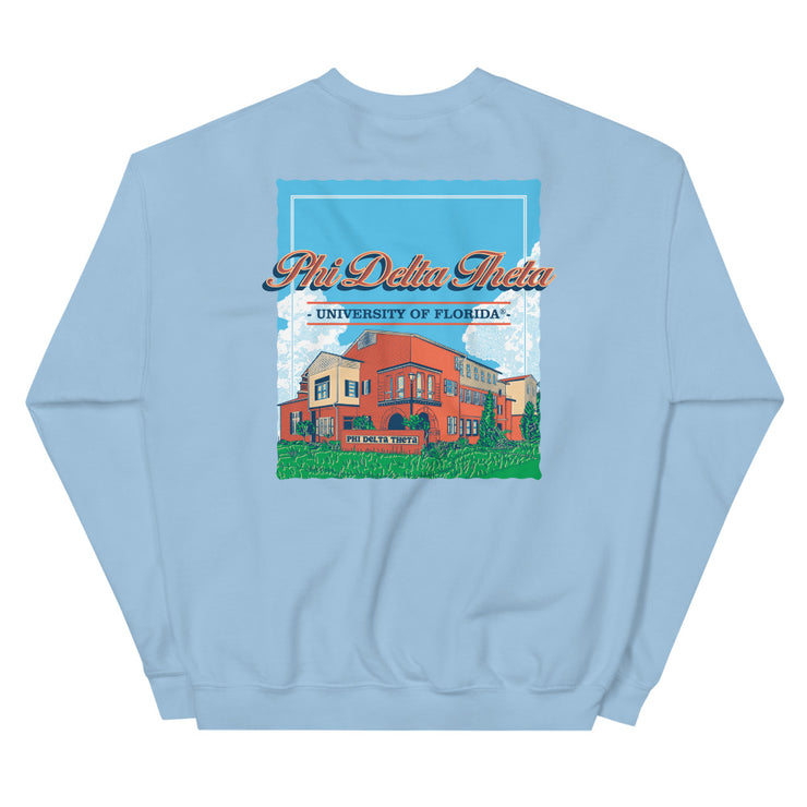 University of Florida - Phi Delta Theta - Chapter House Sweatshirt