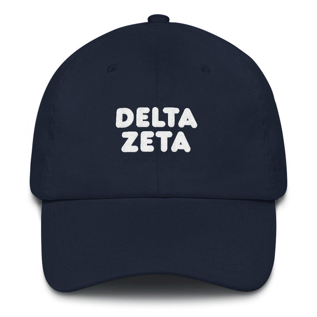 Delta Zeta basic bubble hat