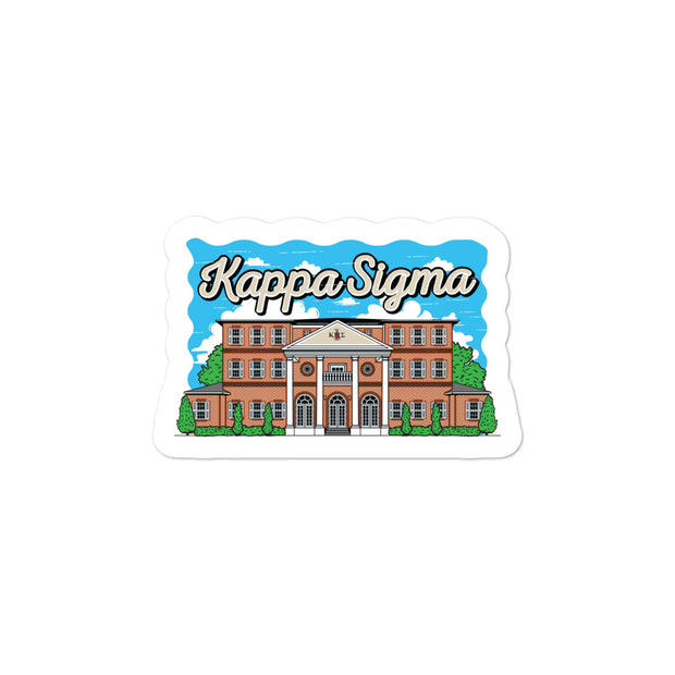 University of Florida - Kappa Sigma - Chapter House Sticker