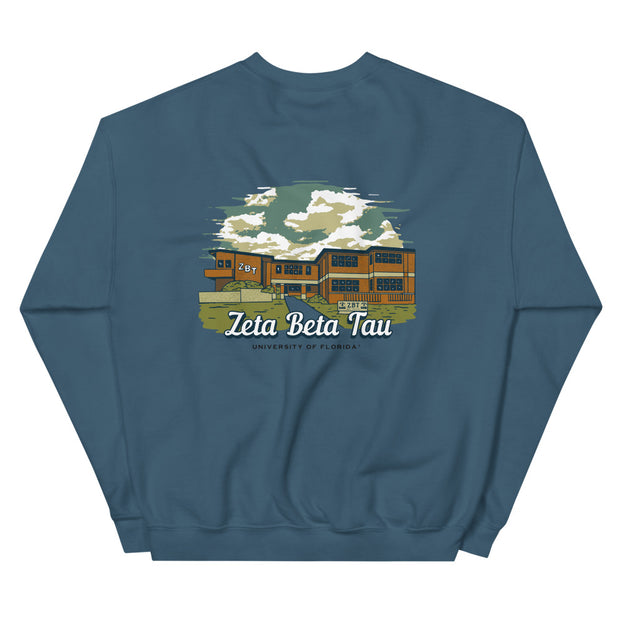 University of Florida - Zeta Beta Tau - Chapter House Sweatshirt