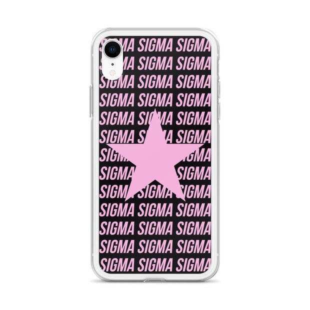 Sigma Sigma Sigma Phone Case - Center of Attention Star