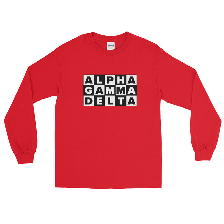 Alpha Gamma Delta Cartoon Network Long sleeves