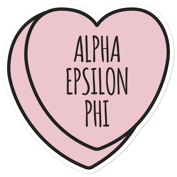 Alpha Epsilon Phi Sweetheart - Sticker